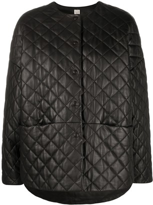 Totême Quilted Effect Jacket