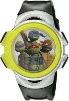 Nickelodeon Boy's Quartz Black Casual Watch (Model: TURKD329CT)