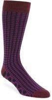 Ted Baker Men's Dot Organic Cotton Blend Socks