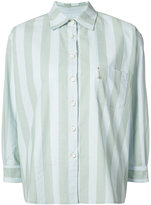 L'Equip striped shirt