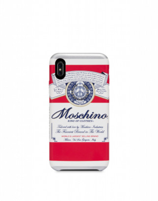 Moschino Budweiser Iphone X / Xs Cover