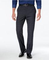 Alfani Men's Stretch Stripe Flat-Front Pants, Slim Fit