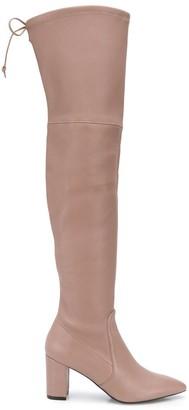 Stuart Weitzman High-Heel Over-The-Knee Boots