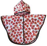 Satsuma Designs Baby and Toddler Poncho, Ladybug by