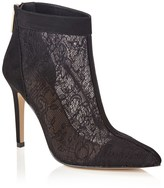 Lipsy Lace Pointed Ankle Boots