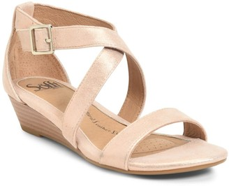 Sofft Innis Low Wedge Sandal - Wide Width Available