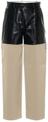 Peter Do Fireman high-rise straight pants
