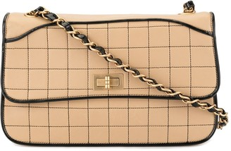 Chanel Pre-Owned Choco Bar 2.55 Line Chain shoulder bag