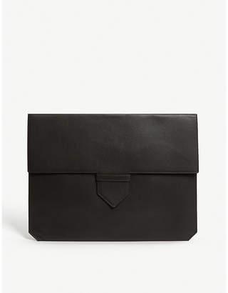 Delvaux VESTIAIRE leather envelope clutch