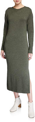Rag & Bone Townes Long-Sleeve Midi Dress