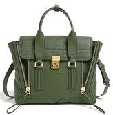 3.1 Phillip Lim 'Pashli - Medium' Shark Embossed Leather Satchel