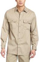 Carhartt Men's Big & Tall Twill Long Sleeve Work Shirt Button Front S224