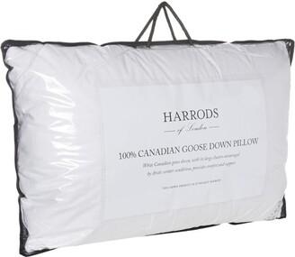 Harrods 100% Canadian Goose Down Pillow (Medium/Firm)