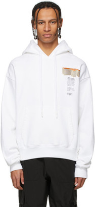 Off-White White Building Hoodie