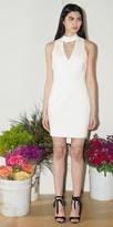 Adelyn Rae Nicole Knit Keyhole Bodycon Dress