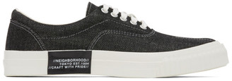 Neighborhood Black Deck-D Sneakers