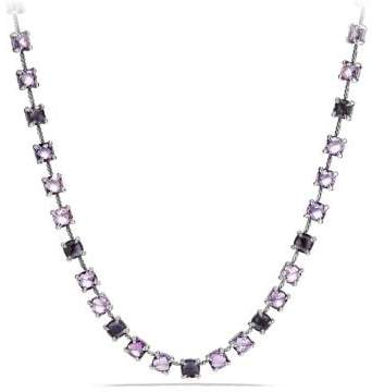 David Yurman Châtelaine Necklace With Black Orchid, Amethyst And