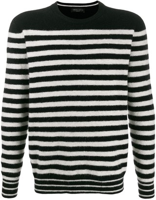 Roberto Collina Striped Knit Sweater