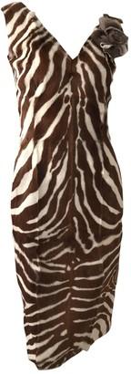 Dolce & Gabbana \N Beige Mink Dresses