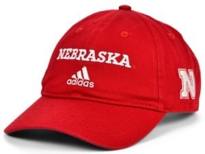 adidas Nebraska Cornhuskers Wordmark Cap