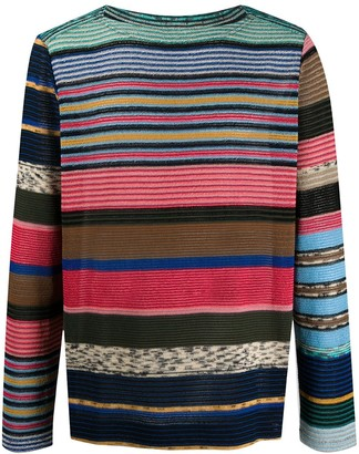 Missoni Striped Knit Jumper