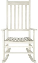 The Well Appointed House White Outdoor Rocking Chair