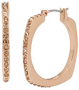 Kenneth Cole New York Pave Square Hoop Earrings