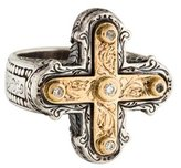 Konstantino Diamond Classics Cross Ring