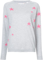Chinti & Parker cashmere star print top