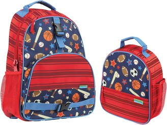 Stephen Joseph Sports Backpack & Lunchbox