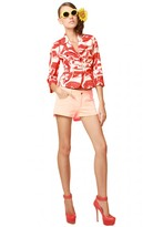 Alice + Olivia 5 Pocket Hipster Short