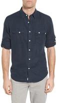 Timberland Mill River Linen Long Sleeve Slim Fit Shirt