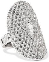 Anita Ko Saddle 18-karat White Gold Diamond Ring - 6
