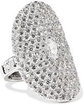 Anita Ko Saddle 18-karat White Gold Diamond Ring