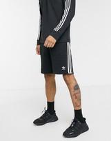 adidas 3-stripe short in black