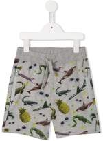 Stella McCartney stickers print Josh shorts