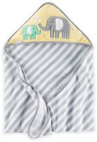 Carter's Elephant Hooded Towel in Yellow/Grey