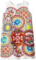 Dolce & Gabbana Mambo Brocade Dress Girl's Dress
