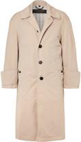 Burberry - Runway Oversized Cotton-gabardine Trench Coat