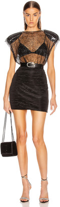 DANIELE CARLOTTA Mini Dress in Black | FWRD