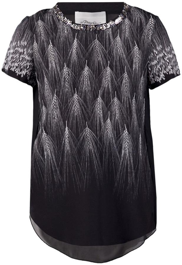 3.1 Phillip Lim wheat print t-shirt