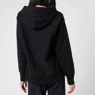 Champion Women's Small Script Hooded Sweatshirt