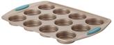 Rachael Ray Cucina Bakeware 12-Cup Muffin Pan