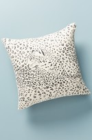 Anthropologie Home Leopard Accent Pillow