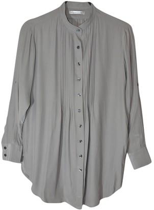 Kenneth Cole Grey Silk Top for Women