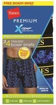 Hanes Premium Boxer Briefs Hanes Premium 4 Pk Multi-colored M