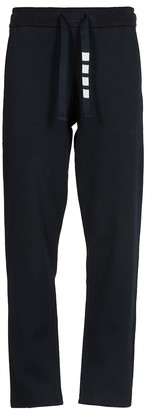 Thom Browne Straight Leg Sweatpants In Double Knit Cotton