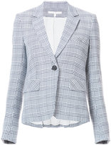 Veronica Beard plaid blazer - women - Cotton/Nylon/Viscose - 2