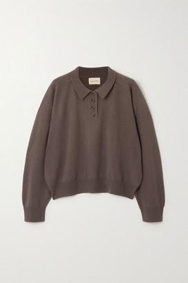 LOULOU STUDIO Forana Cashmere Sweater - Taupe