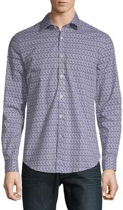 Paisley & Gray Leafly Button-Down Shirt